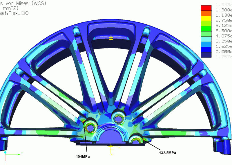 Wheel 3 Stress Analysis